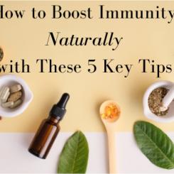 Improve Immunity Naturally!